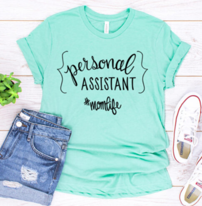 Personal Assistant cut file for use with Silhouette and Cricut. SVG, DXF and PNG files.