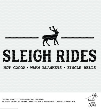 Sleigh Rides flash freebie cut file. Christmas cut file for Cricut and Silhouette.Sleigh Rides flash freebie cut file. Christmas cut file for Cricut and Silhouette.