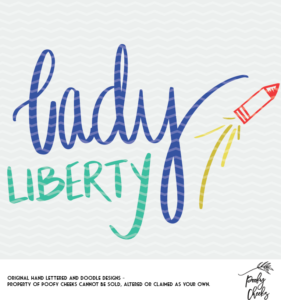 Lady Liberty Cut File for use with Silhouette and Cricut. SVG, DXF and PNG