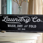 Magnolia Inspired Laundry sign cut file for use with Silhouette and Cricut.