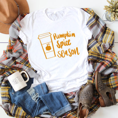 pumpkin spice season shirt