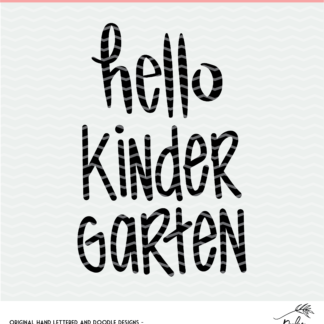 Hello kindergarten design