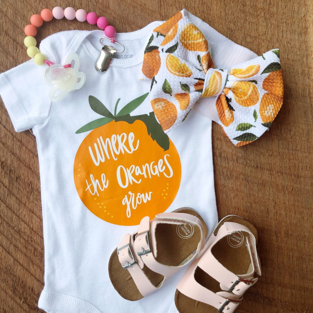 Where the Orang Grow Onesie